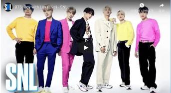 BTS, SNL(Saturday Night Live) 출연 동영상