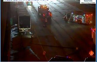 살인사건으로 번진 교통사고 현장/Photo: WSB 24-hour Traffic Center