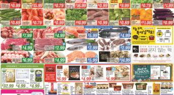 8월16~22일 식품점 세일정보 [H마트]