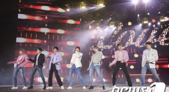 [동영상] BTS 뉴욕타임스퀘어서 '송구영신'공연