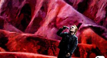 전설적 록그룹 U2 보노, 문대통령 만나
