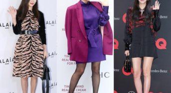 고소영·김혜수·손담비, 독보적 겨울 패션