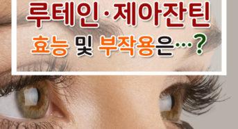 눈에 좋은 '루테인·제아잔틴' 과다복용시 폐암 위험