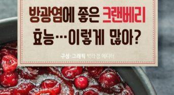 [Story Cook] '크랜베리' 이런 효능까지?