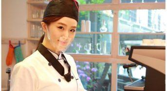 식당 직원용 투명 마스크, 무료 배포