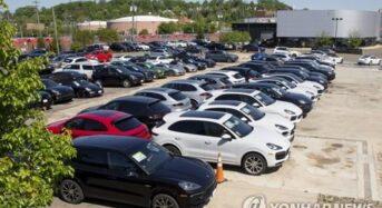 신차 평균가격 3만8천불…1년만에 12% 상승