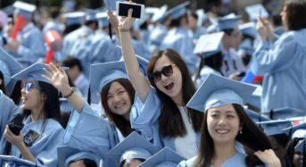 미국내 중국인 유학생 증가율, 10년만에 최저