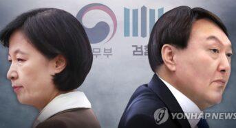 """법원 """"윤석열 직무정지 효력 중단""""…총장 직무 복귀"""