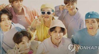 BTS, 뮤직비디오 의상 자선 경매에 기부