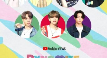 BTS, '다이너마이트' 유튜브 8억뷰 돌파