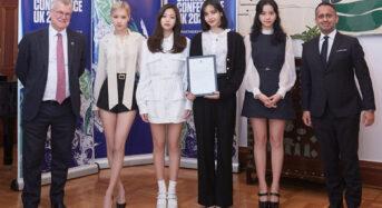 블랙핑크, 유엔기후변화협약 홍보대사 위촉