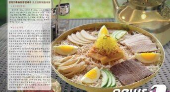 북한 유명식당, 평양냉면 레시피 공개