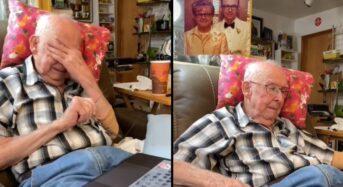 AI로 '부활'한 아내…98세 남편 감격의 눈물