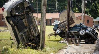 테네시주 폭우로 22명 사망·수십명 실종