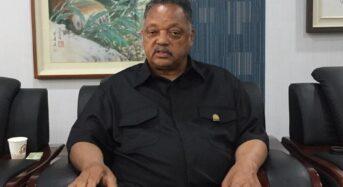 흑인 인권운동가 제시 잭슨 목사, 돌파감염 입원