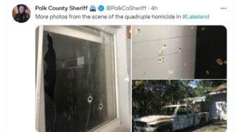 플로리다 총격에 4명 사망…엄마 품 안긴 아기도 희생