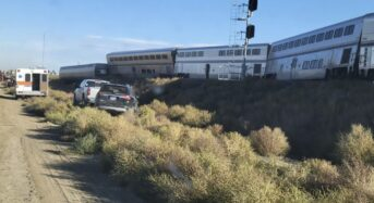 [1보] 몬태나주서 암트랙열차 탈선…최소 3명 사망