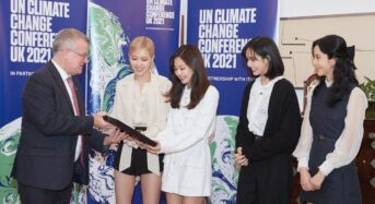 BTS·블랙핑크, 유엔과 '미래세대 문제' 목소리