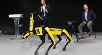 '로봇개'가 현대차, 기아공장 점검한다