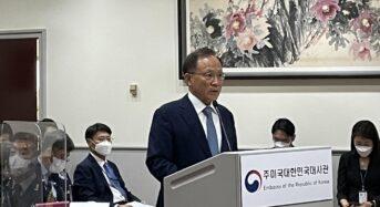 """주미대사, 애틀랜타 한인 총격사망 대응 비판에 """"자성"""""""